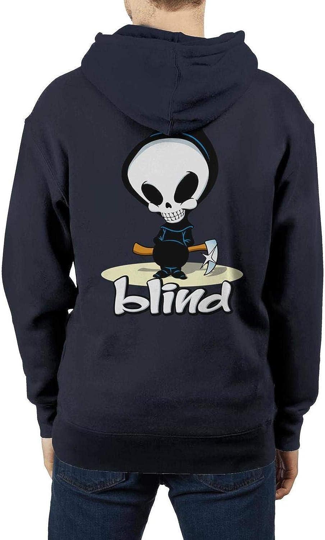 Heavy Blend Pullover Sweatshirt Hoodie Sweater Sportwear Hoodie for Men Blind-Skateboards-Logo