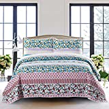 SLPR Summer Festival 3-Piece Lightweight Printed Quilt Set - Best Reviews Guide