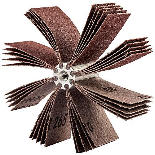 Merit B-820 Alo Resin Bond Bore Polisher, Aluminum Oxide, 10000 rpm, Grit 180 (Pack of 10)