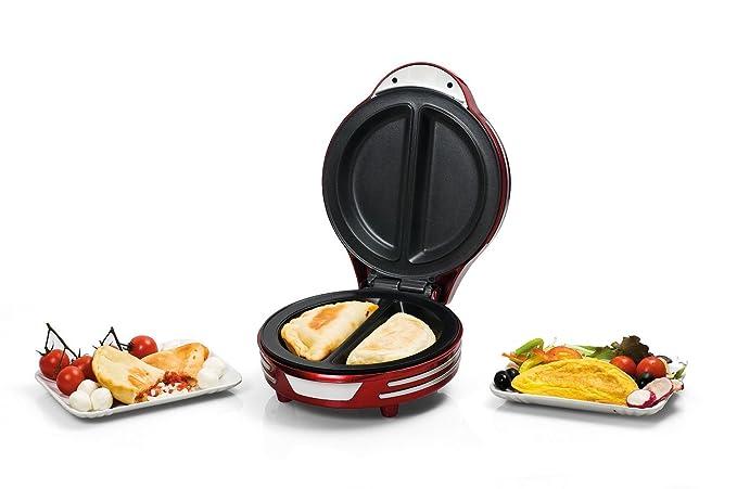 Ariete 182 MÁQUINA DE Empanadas Y Tortillas Party Time, 700 W, rojo: Amazon.es: Hogar