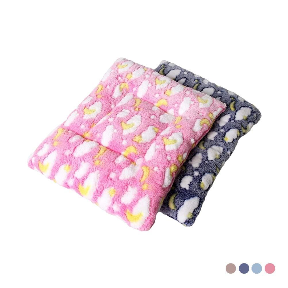 POPETPOP Comodo materasso da criceto per animali domestici Cuscino morbido da rettangolo Cuscino imbottitura per animali domestici che dormono giocando a riposo Taglia S (colore casuale)