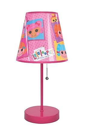 Lalaloopsy Doll Pink Table Lamp Light 16 High Amazon Com