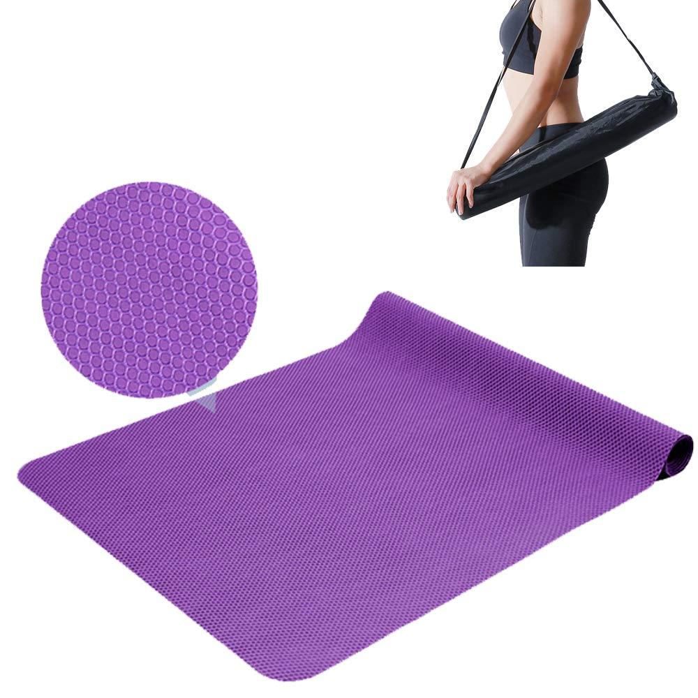 XBECO Toalla/Toalla de Yoga de Viaje de 2 mm Antideslizante ...