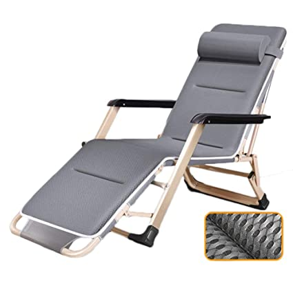 Amazon.com: HYDT Textilene Zero Gravity - Silla de patio con ...