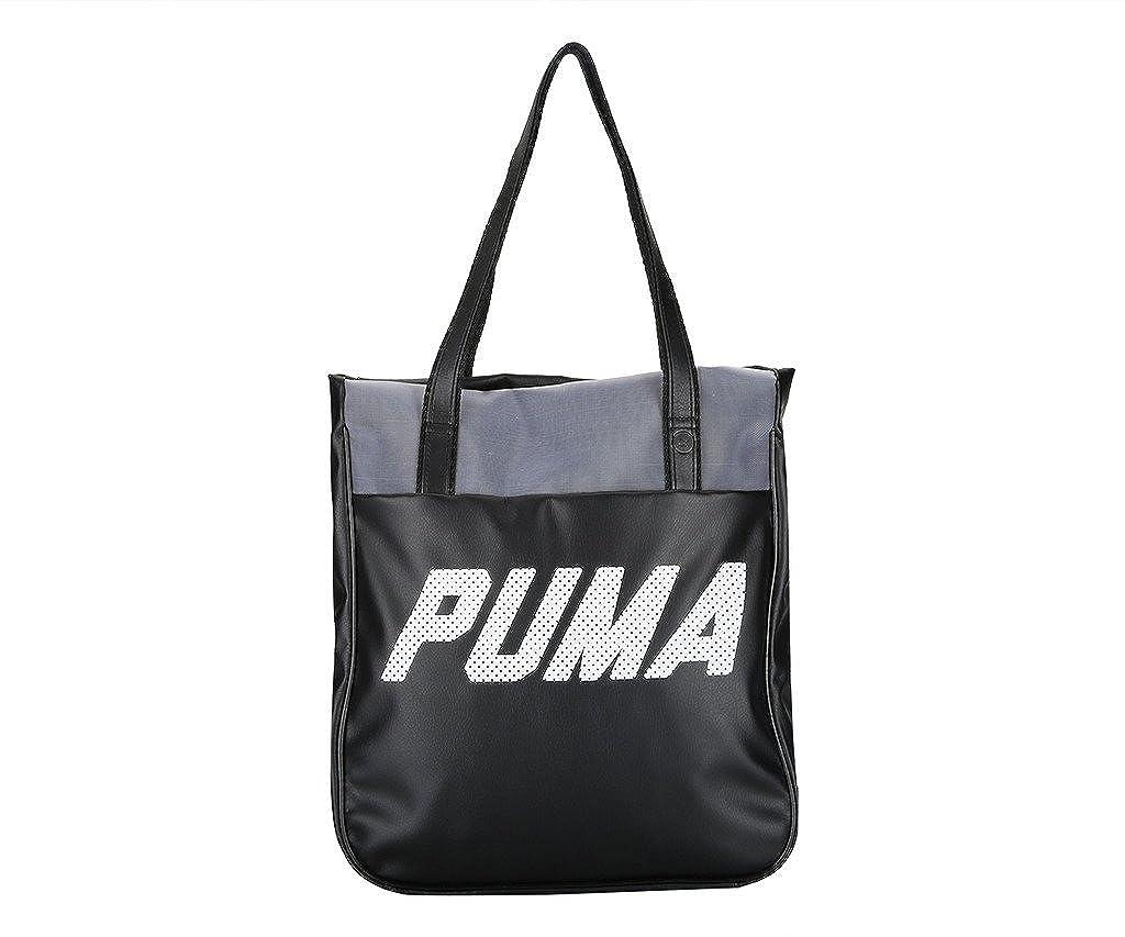 Puma Women s Tote Bag (Black)  Amazon.in  Shoes   Handbags 3ca5916d937dd