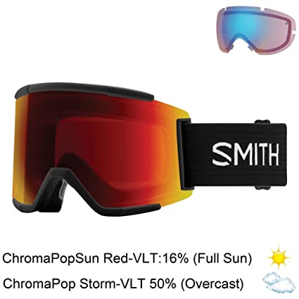 Amazon.com: smith optics adulto Squad XL anteojos de nieve ...