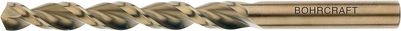 Bohrcraft Spiral Drill Bit DIN 338/High-Speed Steel Co 5/% Split Point Type U TL 5/mm in Quadro Pack Profi Plus Pack of 10/11420300500