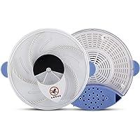 Delaman Trampa Moscas Dispositivo Eléctrico Eficaz Atrapar Moscas Placa Rotatoria Alimentos Que Atrapa, US Plug