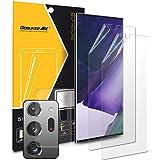 GOBUKEE [2+1+1] Samsung Galaxy Note 20 Ultra Protector de visualización con protector de lente de cámara, fácil de…