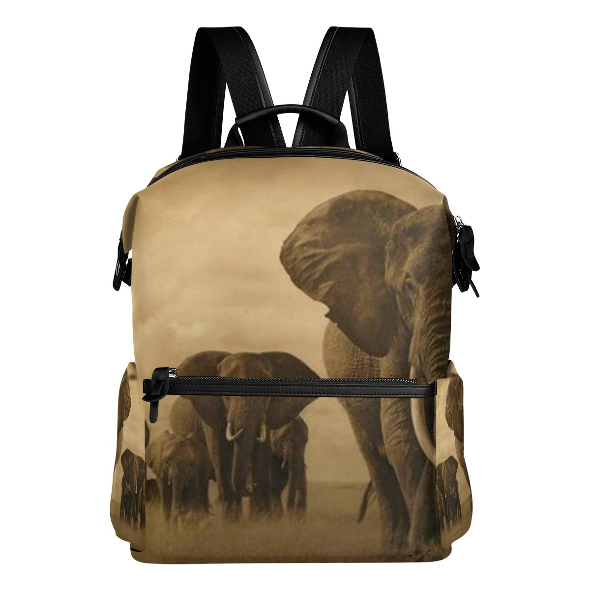 Backpack African Animals Elephant Womens Laptop