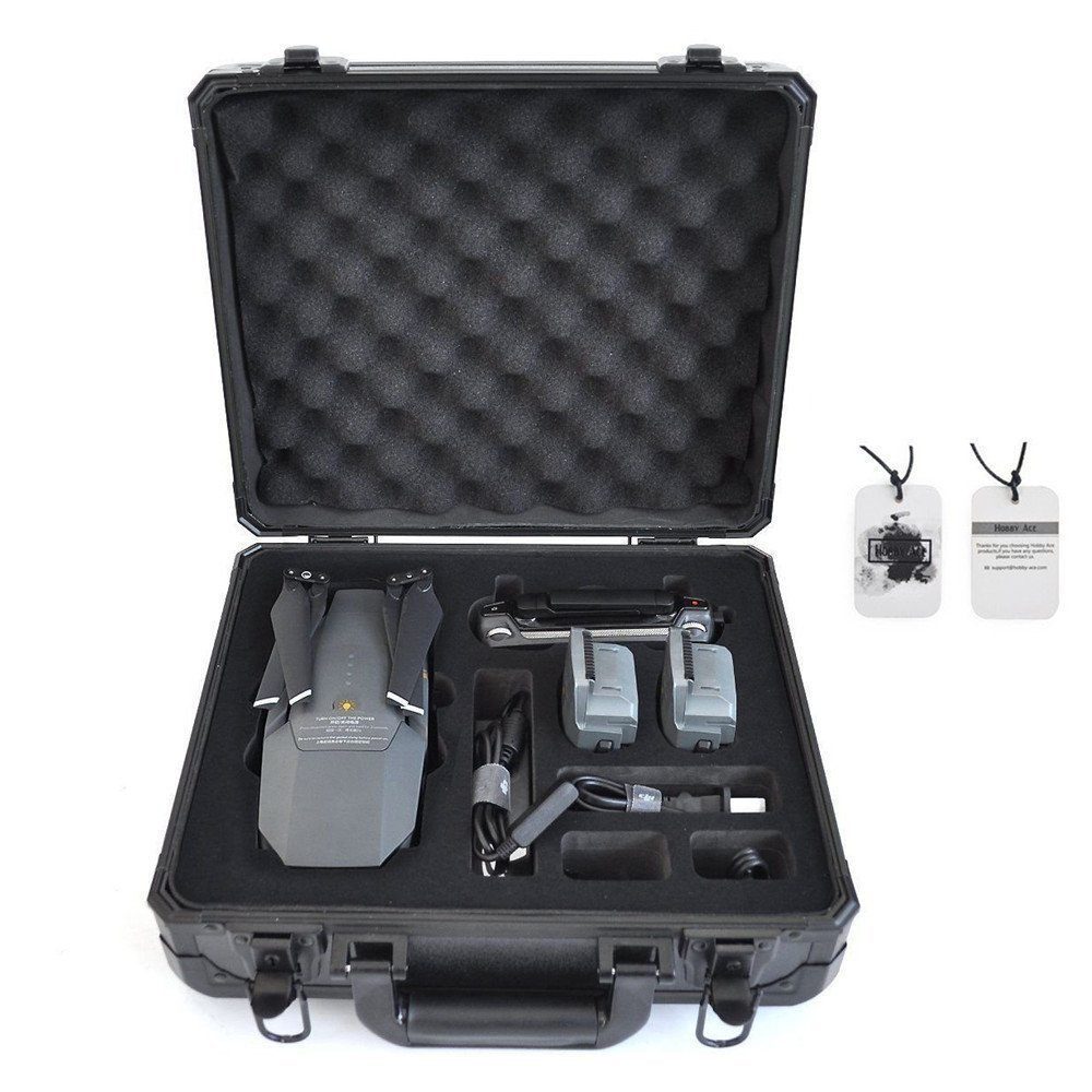 DJI Mavic Pro Case Carring Suitcase Waterproof Hardshell Protective Case for DJI Mavic Pro Drone Quadcopter and Accessories Hobby-Ace
