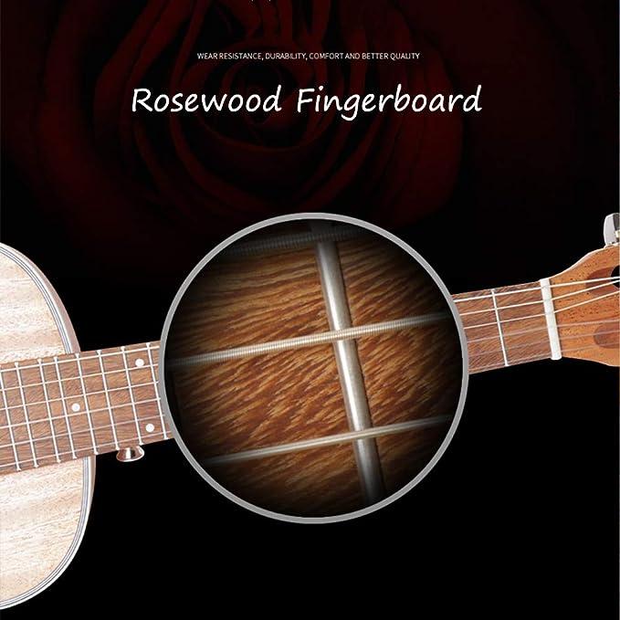 28 pulgadas guitarra acústica para el principiante - 6 kits de la ...