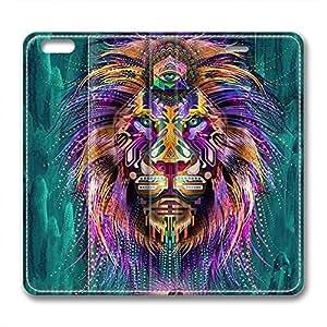 iCustomonline Leather Case for iPhone 6, Digital Tiger Ultimate Protection Leather Case for iPhone 6 hjbrhga1544