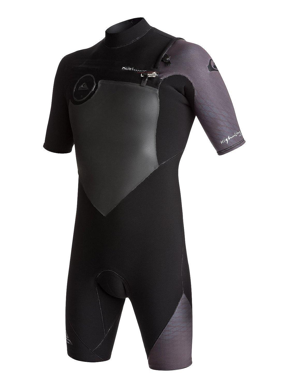 QuikSilber 2 2mm 2mm 2mm Highline Plus - Chest Zip Kurzarm-Spingsuit für Männer B0742CJKNL Neoprenanzüge Ruf zuerst 0f6e1e