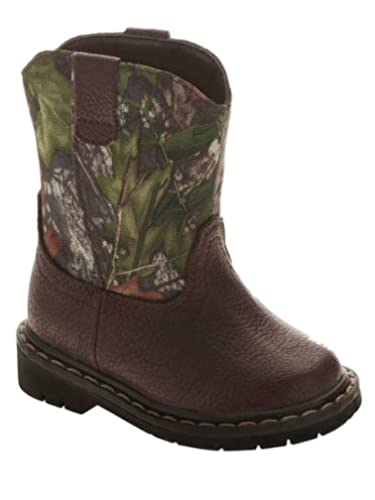 Amazon.com | Mossy Oak Garanimals Toddler Boys Green Camo Western ...