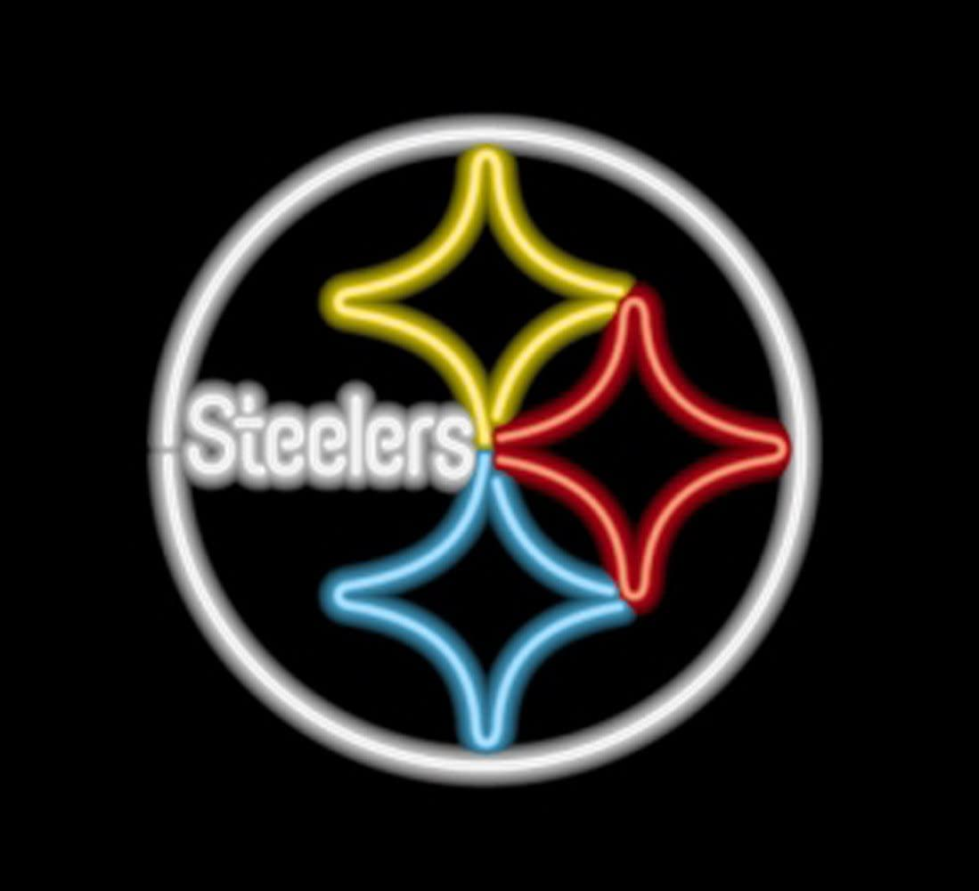 Pittsburgh Steelers Nfl Logo Commercial Grade Neon Pub Sign Amazon Com