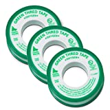 Gasoila Green PTFE High Density Thread Tape for