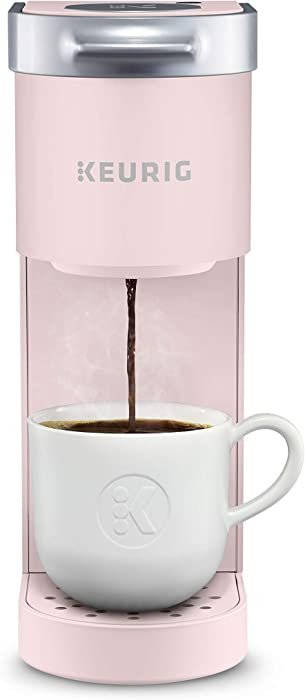 Keurig K-Mini Coffee Maker, Single Serve K-Cup Pod Coffee Brewer, 6 to 12 oz. Brew Sizes, Dusty Rose