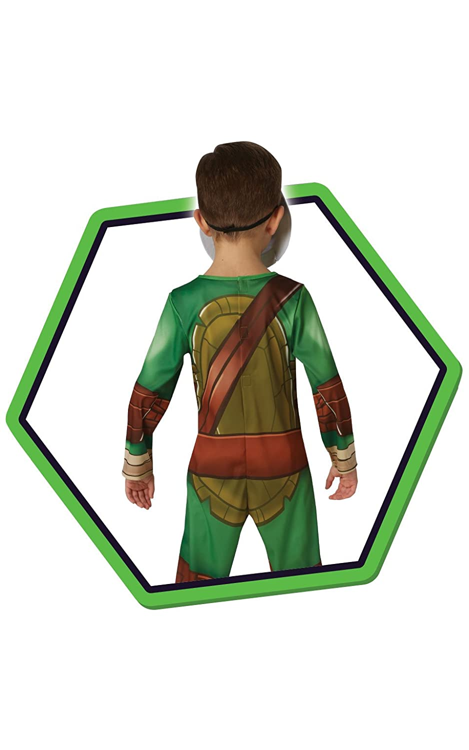 Rubies s Official TMNT Half Shell Hero Teenage Mutant Ninja Turtles, disfraz para niños – tamaño mediano