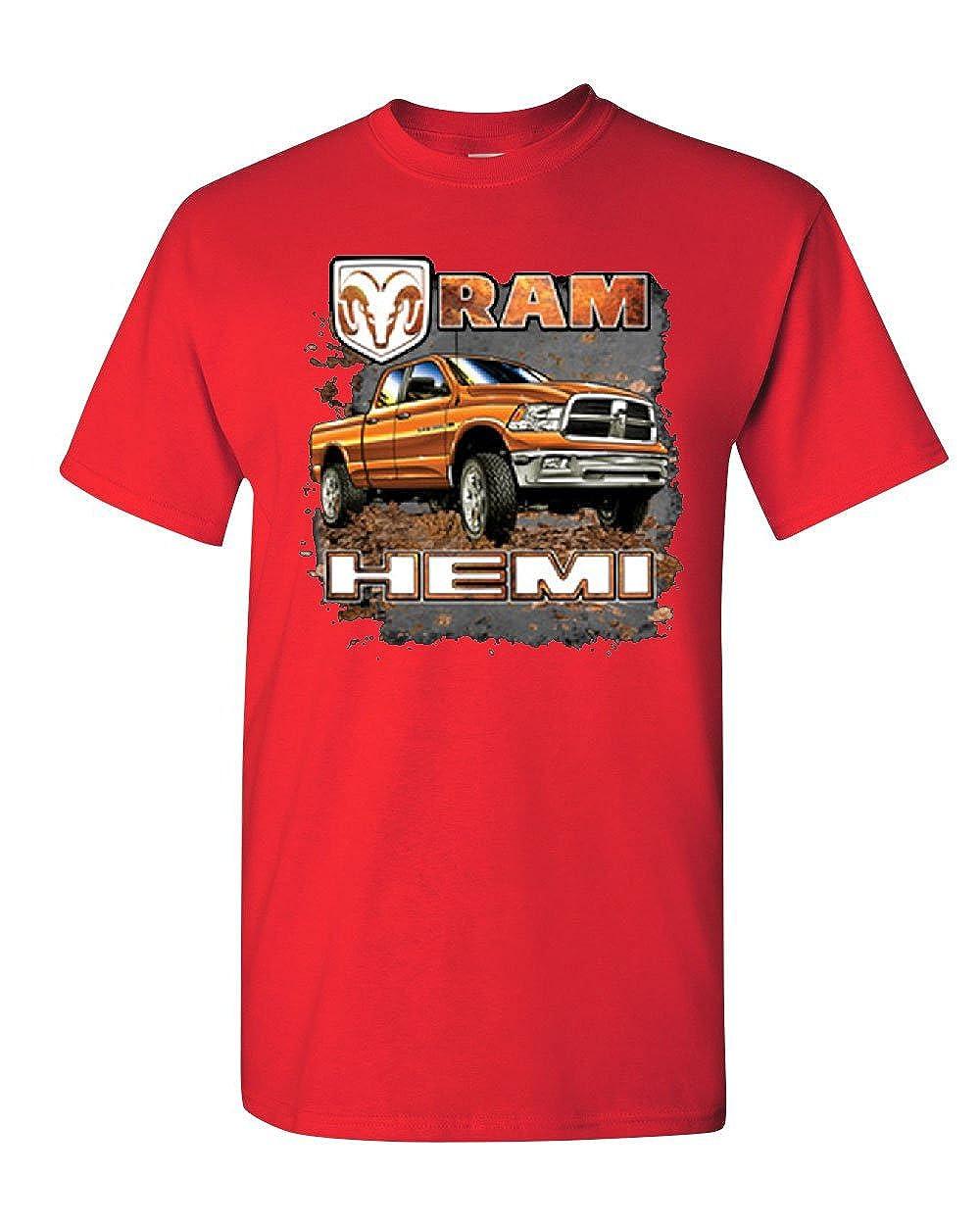 Dodge Ram Hemi T-Shirt Dodge Truck Offroad Licensed Tee Shirt