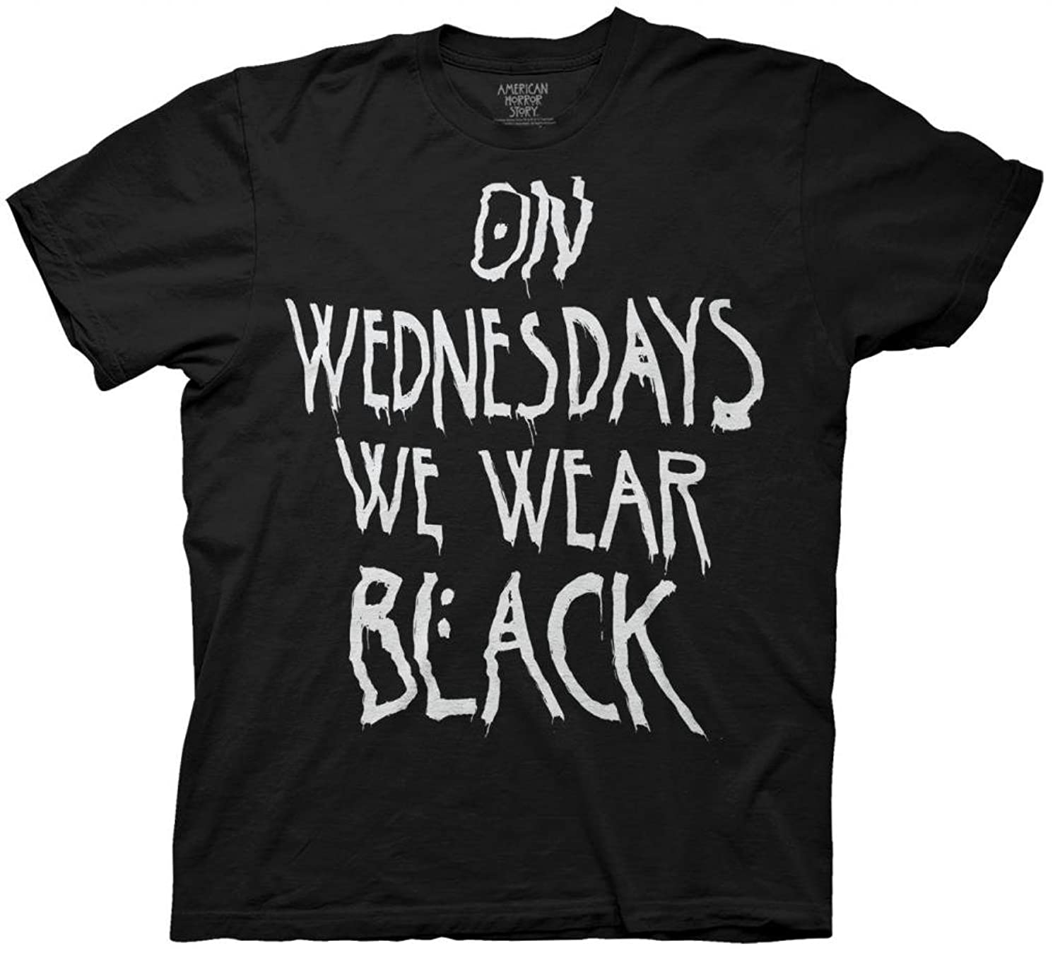 Amazon.com: American Horror Story On Wednesdays We Wear Black ...