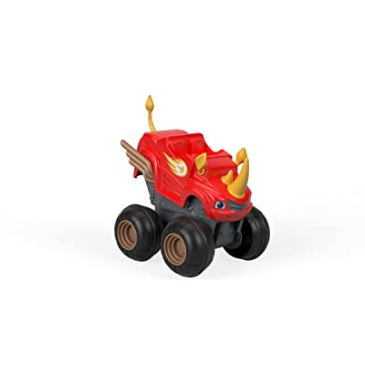 Fisher-Price Nickelodeon Blaze & the Monster Machines, Slam & Go Rhino Truck: Toys & Games