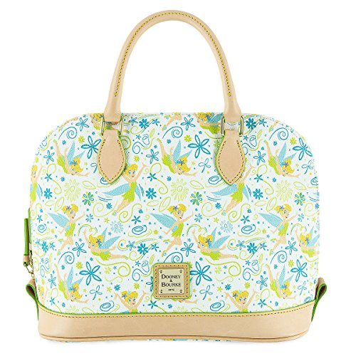 Tinker Bell Floral Satchel by Dooney & Bourke]()