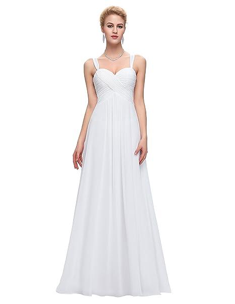 MUjer Vestido de Gala de Noche Vestido Largo de Fiesta Talla 4 ST65-2