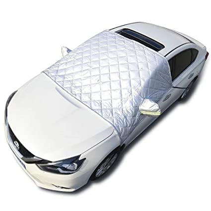 69ae1573 Image Unavailable. Image not available for. Color: YXIUER Car Windshield  Snow & Ice Cover Frost Guard ...