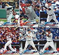 2018 Topps Baseball Series One Complete Mint Base 350 Card Set Loaded with Star Players Rookies and Future Stars including Aaron Judge plus