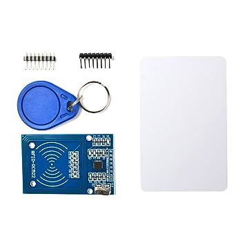 BUYGOO RC522 RFID Reader with S50 Keychain Card: Amazon co uk