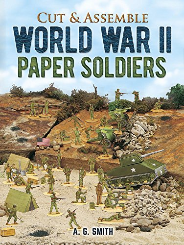 Cut & Assemble World War II Paper Soldiers (Models & Toys) ()
