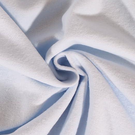 Craftine Tela Franela de algodón Uni Azul Cielo – por 50 cm ...