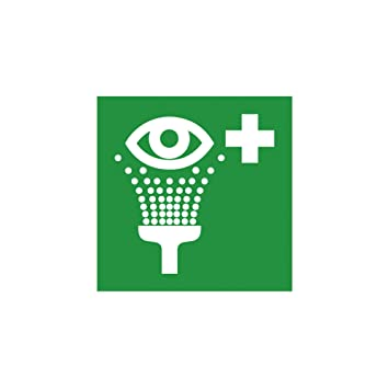 Rescue Sign Eye Wash Symbol Furniture In Accordance With Iso 7010