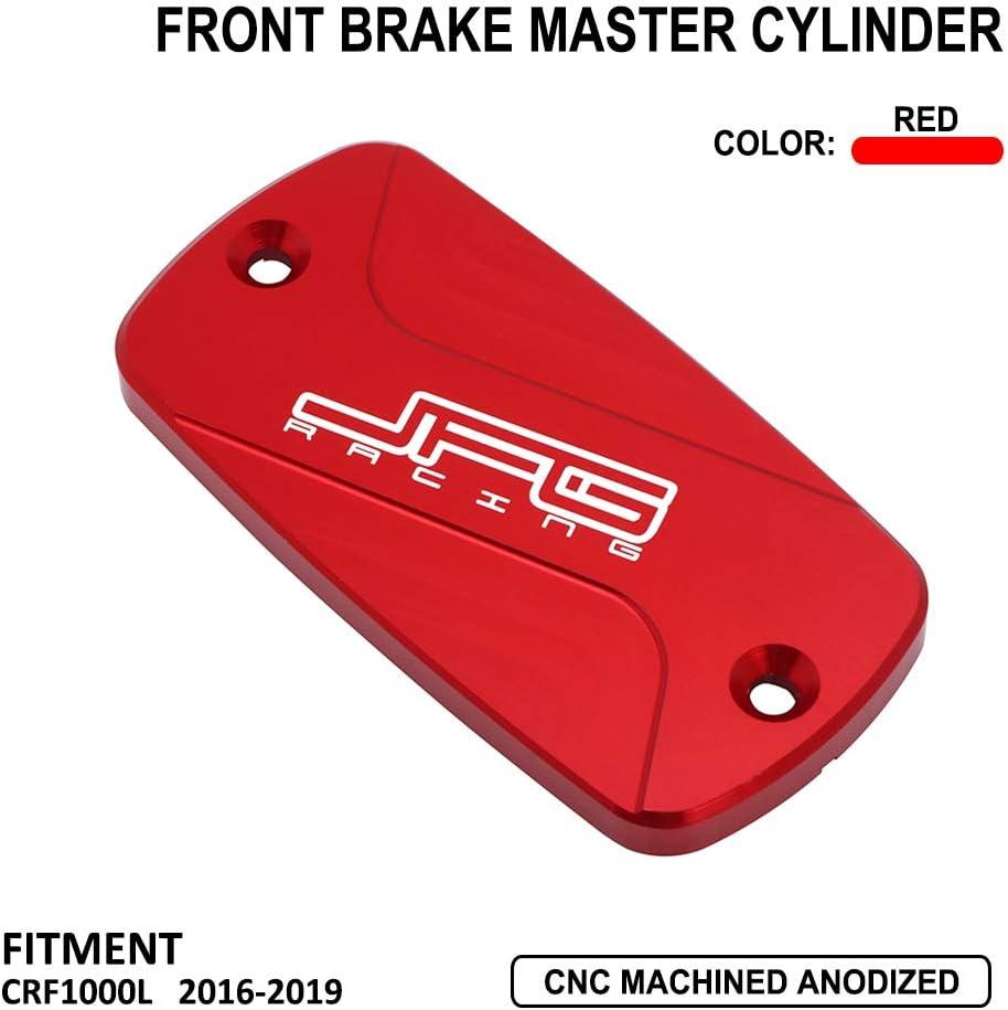 Front Brake Fluid Reservoir Cover Cap For Honda XR250 95-07 XR400 Motard 05-07