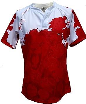Olorun Inglaterra Honor Seguidores Rugby Camisa Inglés Rosas S-7 XL