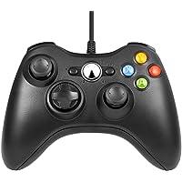 JAMSWALL Game Controller per Xbox 360,Wired Game Controller Gamepad Controller Cablato USB, Joystick, Joypad Compatibile per Microsoft Xbox & Slim 360 PC Windows