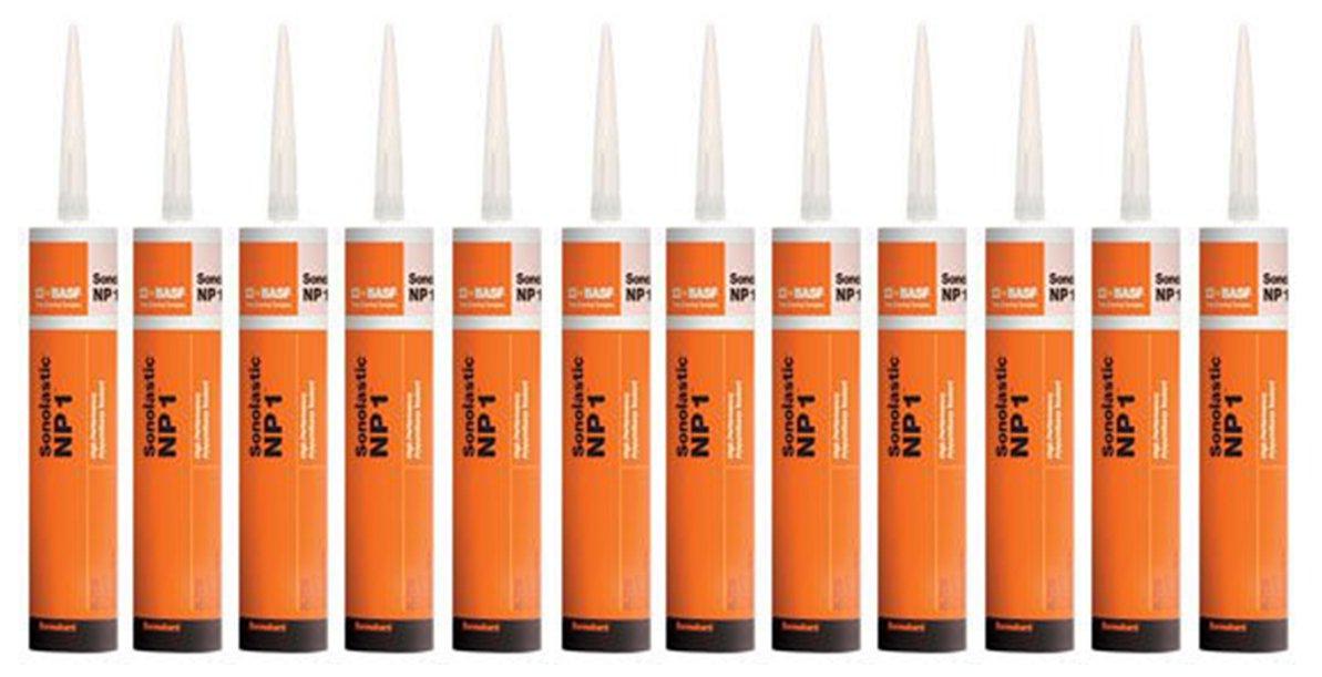 BASF Sealant NP1 Polyurethane White 10.1 Oz - Case of 12