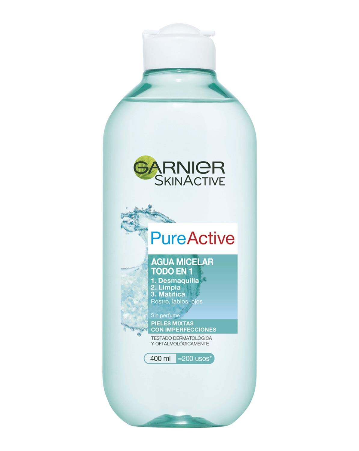 Garnier Skin Active Pure Active Mat Control Agua Micelar - 400 ml product image