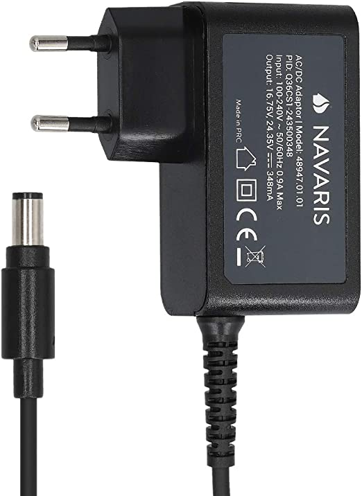 Navaris Cargador Compatible con aspiradora Dyson - Cargador ...