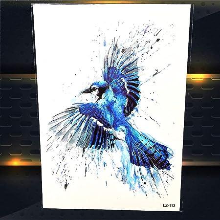 Zhuhuimin 5 Unidades/Set Tattoo Flying Eagle Design Mujer Arte ...