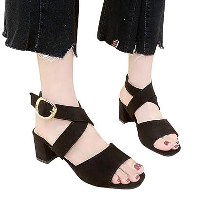 73922aa22057f Amazon.com: YJYDADA Women Fish Mouth High Heels Wedge Thick with ...
