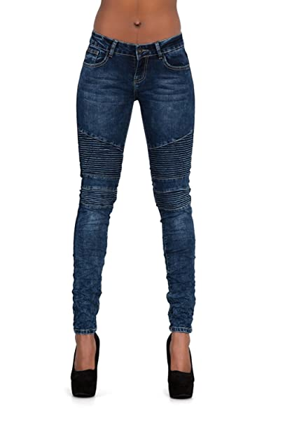 Denim pantalones, vaqueros de mujer, Push up/Levanta cola ...