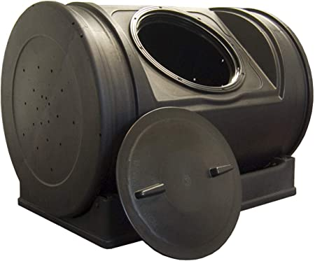 Amazon.com: Good Ideas EZCJR-BLK Compost Wizard Jr. 7 pies ...