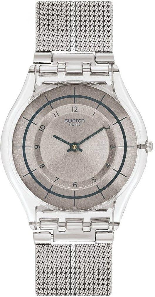 Digital Armband Edelstahl Mit Quarz Uhr Sfe109mAmazon Swatch Damen jLqc54AR3