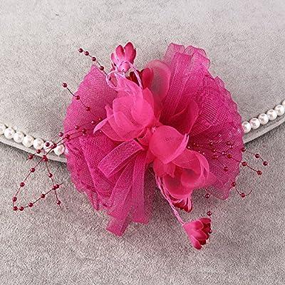 MDRW-Accessoires De Cheveux De Mariée En Épingle À Cheveux/Mariage/fête/femme belle coiffure à haute teneur en fils de soie de colliers de fleurs broche broche