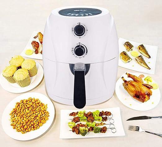 Freidora De Salud Multifunción Hogar Libre De Aceite Freidora Eléctrica De Gran Capacidad Máquina Automática Inteligente De Papas Fritas: Amazon.es: Hogar
