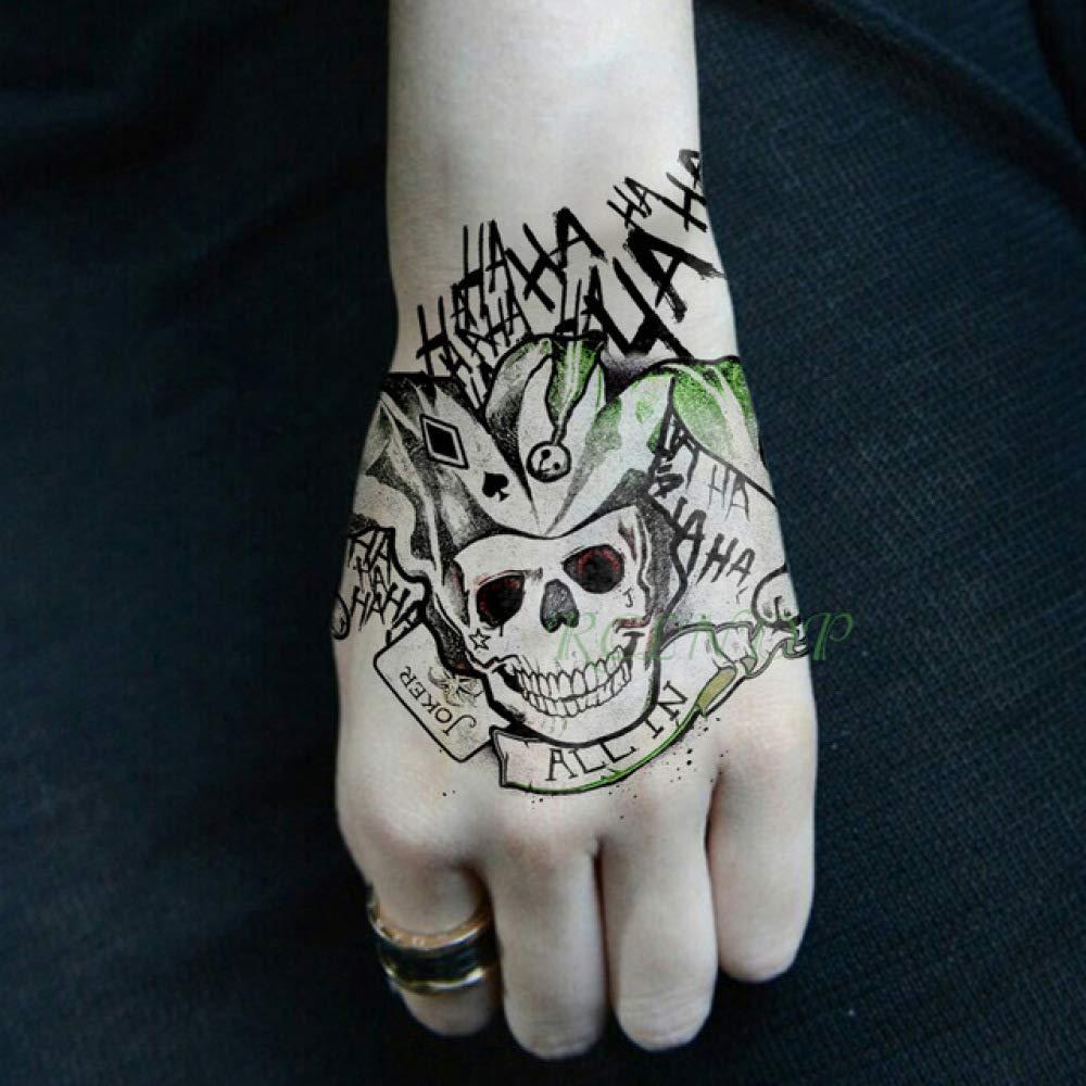 Etiqueta engomada Impermeable del Tatuaje 5pcs Mantener la ...