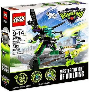 Amazon.com: LEGO Master Builder Academy Set #20216 Robot & Micro ...