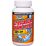 Instant Power 1650 Crystal Lye Drain Opener – 1 Lb, Quick Action Sodium Hydroxide for Sinks and Drainage Systems | Plumbing S